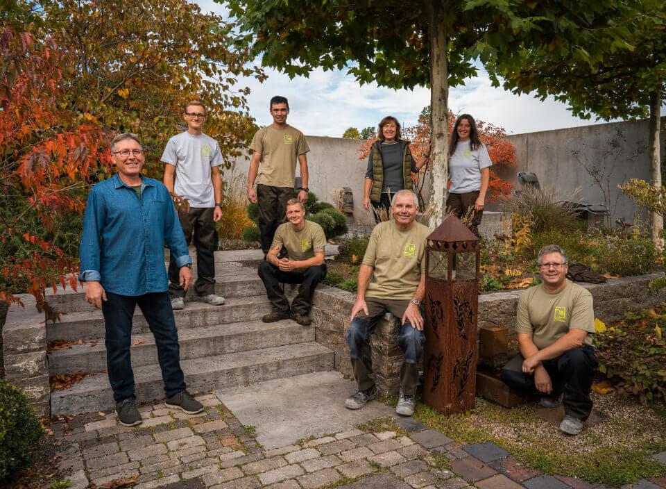 Team von H. Höfler Gartengestaltung